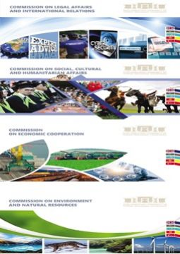 Brochures on the activities of TURKPA Comissions (2019)